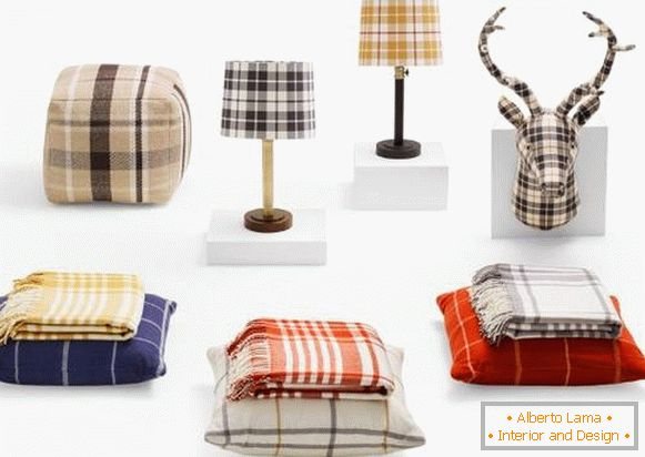 Trendovi za dom: Plaid Home Decor iz cilja (jesen 2015.)